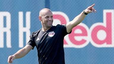 Red Bulls recently named coach Chris Armas at