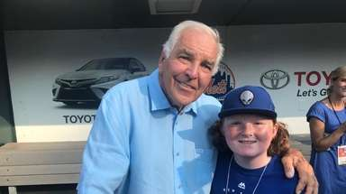 New York Mets legend Ed Kranepool with Kidsday