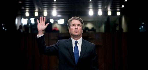 Supreme Court nominee Brett Kavanaugh is sworn in