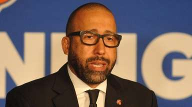 New York Knicks head coach David Fizdale speaks