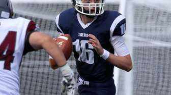 Northport QB Sean Walsh looks for an open
