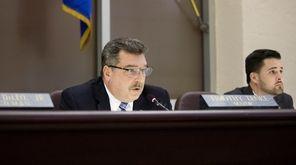 Glen Cove mayor Timothy Tenke, seen on Feb.