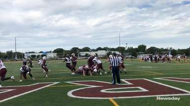 Bay Shore earns a 22-20 homecoming win over