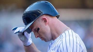 New York Yankees left fielder Brett Gardner (11)