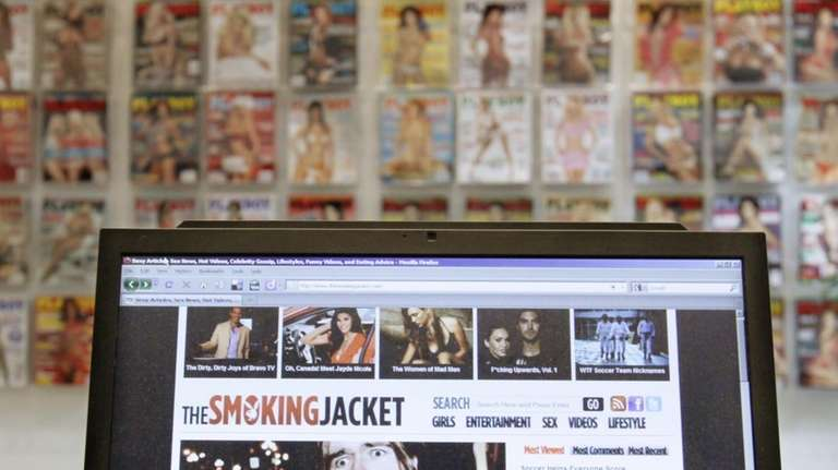 Thesmokingjacket.com is now on computers near you, and