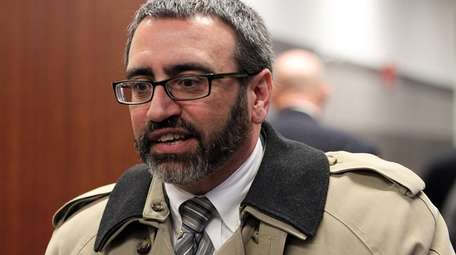 Former Islip Town Attorney Vincent Messina, seen on