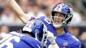 Giants' Eli Manning completed 25 of 29 passes
