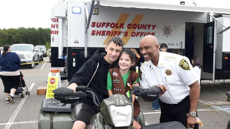 Suffolk County Sheriff Errol D. Toulon Jr. with
