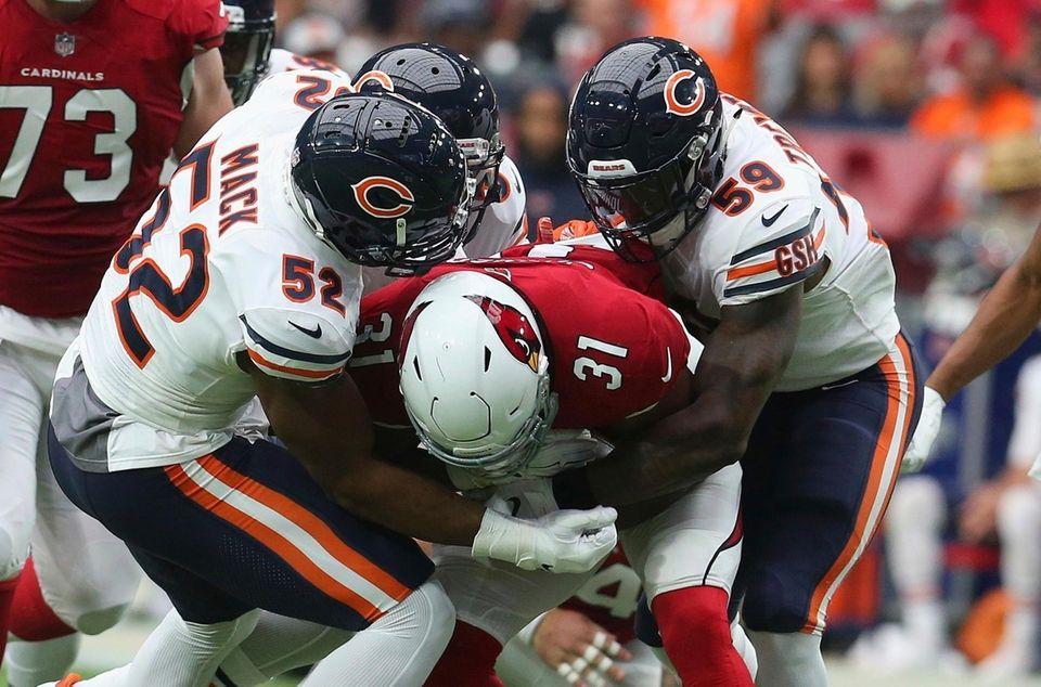 Chicago Bears linebacker Khalil Mack (52) makes a