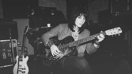 Joan Jett in a scene from the documentary