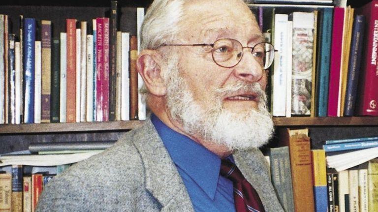 Julian Mates, a professor of English at the