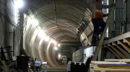 A portion of the East Side Access project