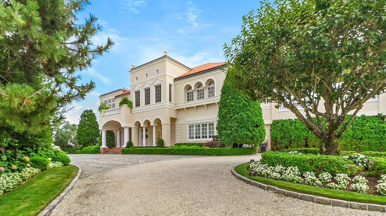 Skin care legend's LI home lists for $38M