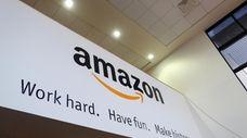 An Amazon banner.