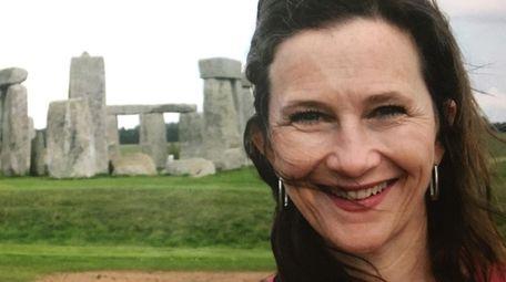 Krumholz on a trip to Stonehenge in England