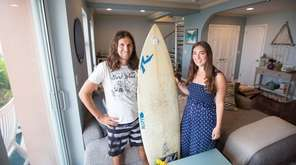 Surfers Andrew and Jeanette Lerner at their Lido