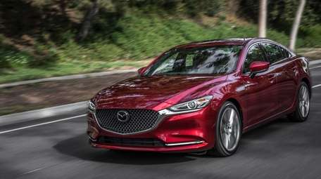 The 2019 Mazda6 sedan offers a blend of
