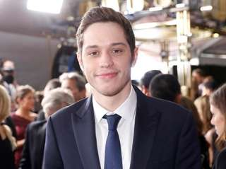 Pete Davidson attends the 69th Primetime Emmy Awards