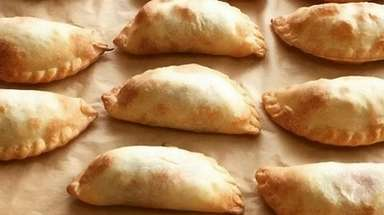 Empanadas from Jessy's Pastries come in traditional beef