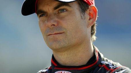 Jeff Gordon, driver of the No. 24 DuPont