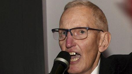 Smithtown Republican Committee Chairman Bill Ellis on Nov.