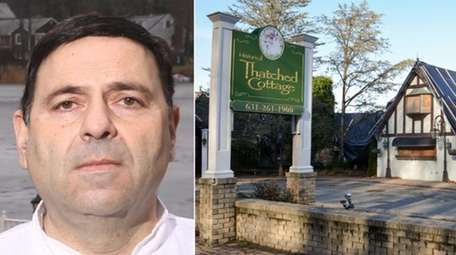 Ralph Colamussi, former owner of Thatched Cottage, faces