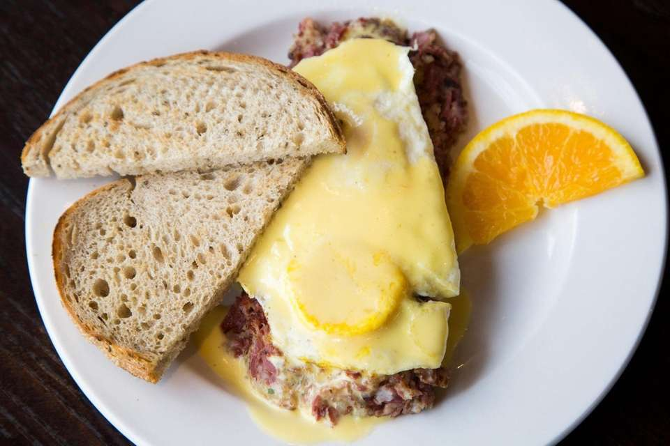 Famous Hash is pictured at Famous Toastery in