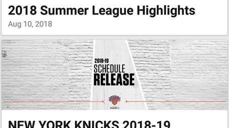 Official New York Knicks - Brooklyn Nets -
