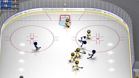 Stickman Ice Hockey - (iOS, Android; free) -