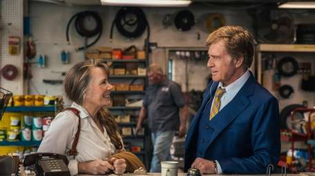 """Sissy Spacek and Robert Redford in """"The Old"""