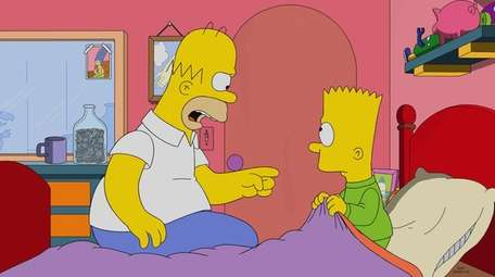 """A scene from """"Bart's Not Dead,"""" the episode"""