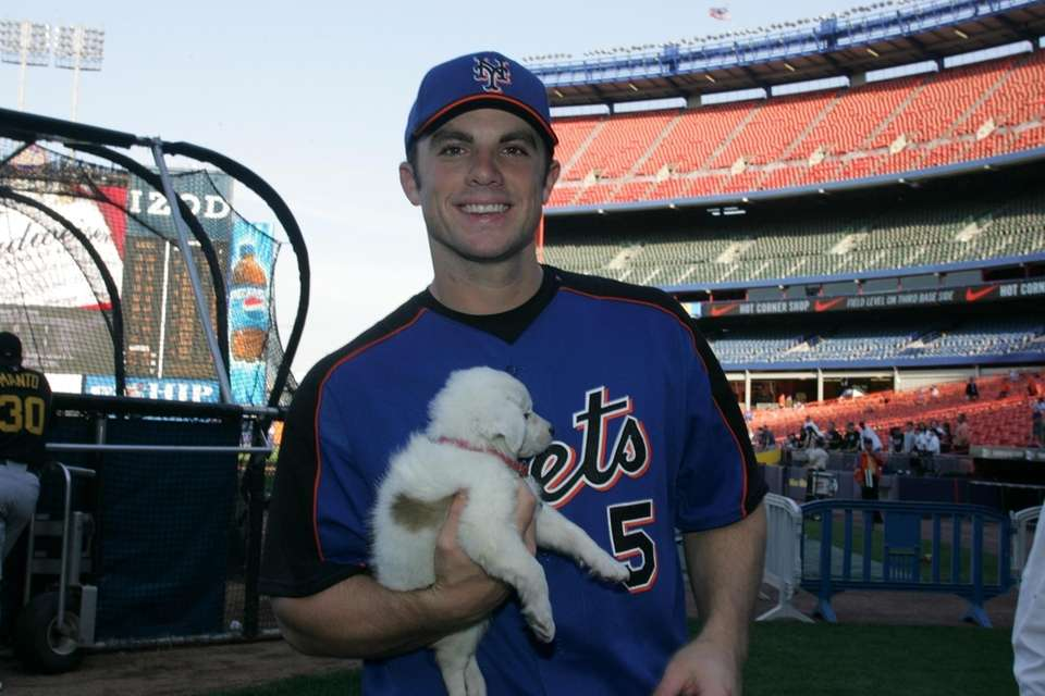 On May 4, 2006, David Wright holds a