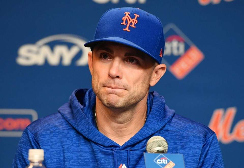 Mets captain David Wright speaks during a press