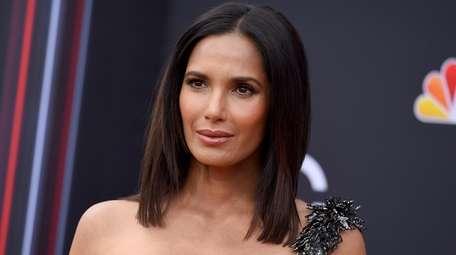 Padma Lakshmi arrives at the Billboard Music Awards