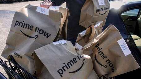 The expansion of Amazon's business across the country