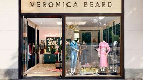 High-end women's clothing brand Veronica Beard opened a
