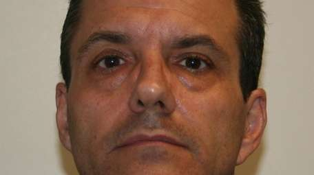 Constantine Giannakos, 51, was charged with grand larceny.