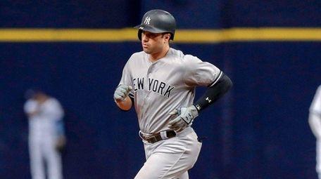 Neil Walker #14 of the New York Yankees
