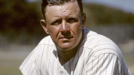 Manager Ralph Houk, of the New York Yankees,