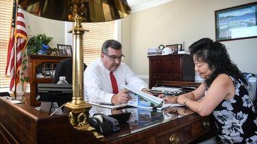 Glen Cove Mayor Timothy Tenke had been calling
