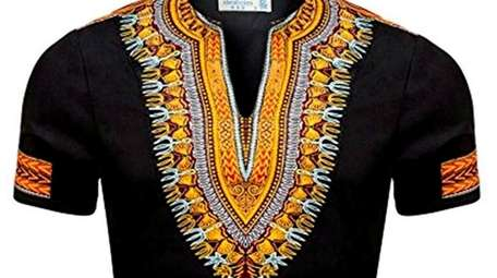 The dashiki arrived on the American fashion scene