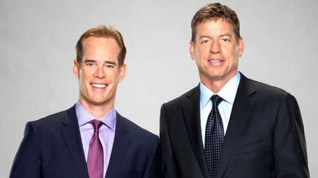 Fox Sports' lead NFL broadcast team of Joe