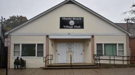 The former Mastic Beach Village Hall on Neighborhood
