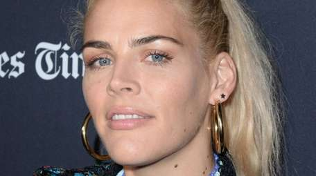 "Busy Philipps at the premiere of ""The Oath"""