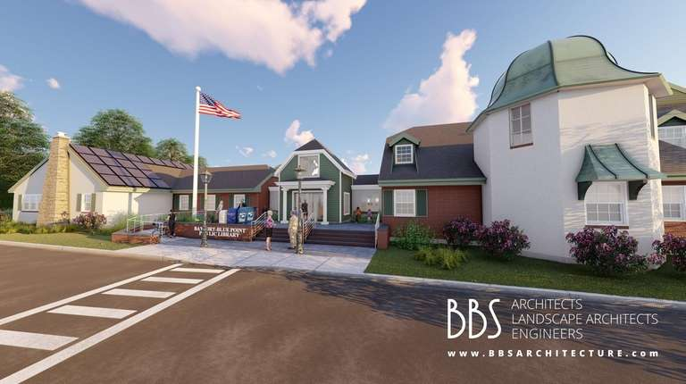 A rendering of the entrance to the proposed