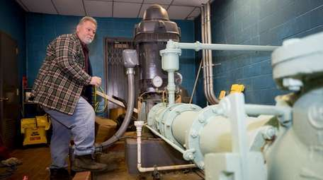 Mike Colangelo, Water Service Foreman at Glen Cove,