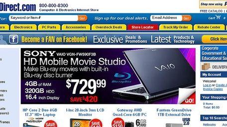 Port Washington-based Systemax's brands include TigerDirect
