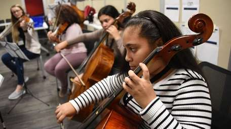 Jesenia Sanchez, 13, of Copiague, on Sept. 21,