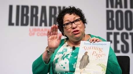 Supreme Court Associate Justice Sonia Sotomayor talks about
