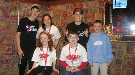 YouTube stars Max and Harvey with Kidsday reporters